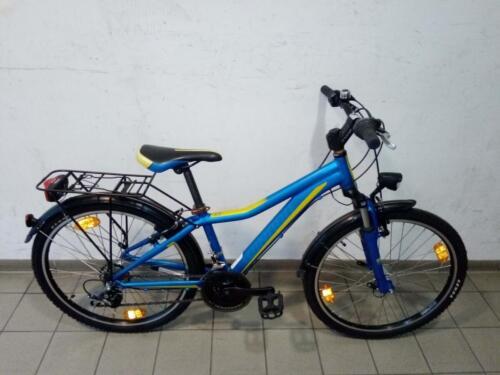145 € Winora, blau/gelb