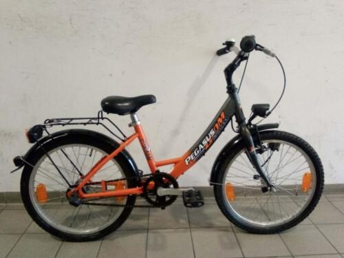 130€ Pegasus, schwarz/orange